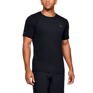 Camisetas Fitness y Training Hombre Under Armour Rush Fitted Camiseta  Black 13534500001