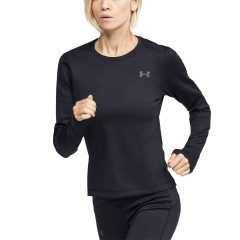 Under Armour Under Armour Qualifier ColdGear Maglia  Black/Pitch Gray  Black/Pitch Gray 13440620001