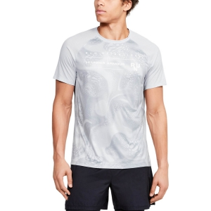 Under Armour Qualifier Iso-Chill Weightless T-Shirt - Gray