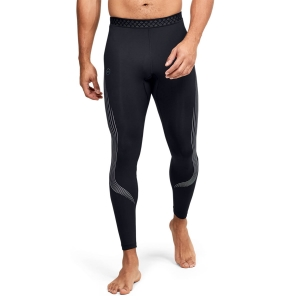 Tights Fitness e Training Uomo Under Armour Rush Stamina Tights  Black/Reflective 13501500001