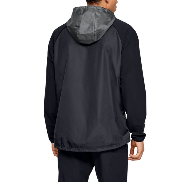 Under Armour Stretch Chaqueta - Black/Pitch Gray