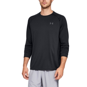 Men's Fitness & Training Shirt and Hoodie Under Armour Tech 2.0 Shirt  Black/Graphite 13284960001