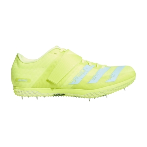 Zapatillas Competición Hombre adidas Adizero High Jump  Solar Yellow/Clear Aqua/Core Black FW2244