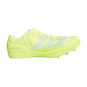 Zapatillas Competición Hombre adidas Adizero Long Jump  Solar Yellow/Clear Aqua/Core Black FW2243