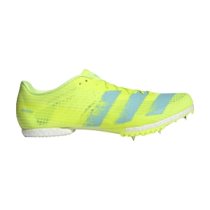 Men's Racing Shoes Adidas Adizero Middle Distance  Solar Yellow/Clear Aqua/Core Black FW2240