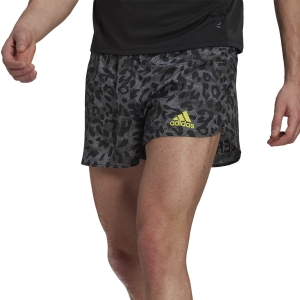 Pantalones cortos Running Hombre adidas Adizero Split 3in Shorts  Grey Six GP9735