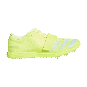 Men's Racing Shoes adidas Adizero Triple Jump  Solar Yellow/Clear Aqua/Core Black FW2242