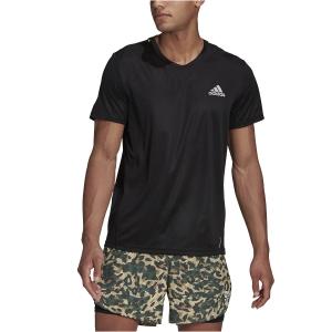 adidas Fast Primeblue T-Shirt - Black/Reflective Silver