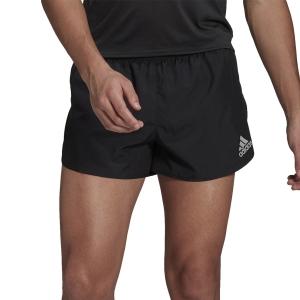 adidas Fast Split 3in Shorts - Black