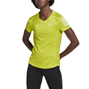 adidas Own The Run T-Shirt - Acid Yellow