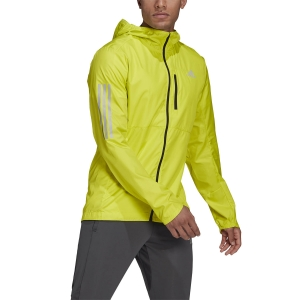 adidas Own The Run Wind Jacket - Acid Yellow