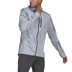 adidas Own The Run Wind Jacket - Halo Silver