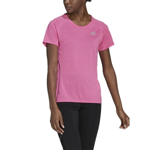 adidas Runner T-Shirt - Screaming Pink