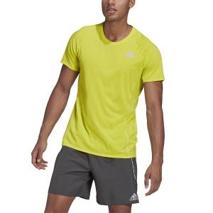 adidas Runner T-Shirt - Acid Yellow