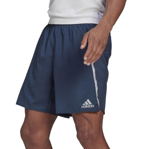 adidas Saturday 5in Shorts - Crew Navy