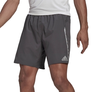 Pantalones cortos Running Hombre adidas Saturday 5in Shorts  Grey Six GJ9877