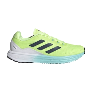 Women's Performance Running Shoes adidas Sl20.2  HI Res Yellow/Crew Navy/Clear Acqua FY0354