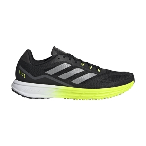 Scarpe Running Performance Uomo adidas SL20.2  Core Black/Solar Yellow FW9156
