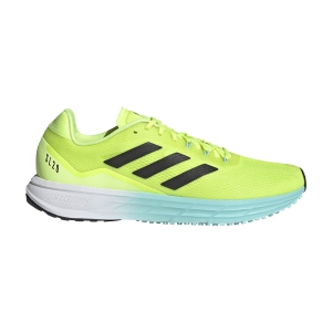 Scarpe Running Performance Uomo adidas SL20.2  Solar Yellow/Core Black/Clear Aqua FW9297