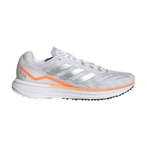 adidas SL20.2 SUMMER.READY - Ftwr White/Silver Metallic/Screaming Orange