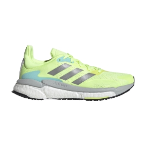 Women's Neutral Running Shoes adidas Solar Boost 3  Hi Res Yellow/Silver Met/Dash Grey FY0303