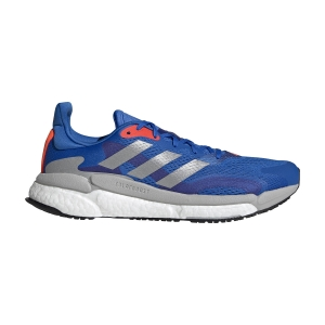 Men's Neutral Running Shoes adidas Solar Boost 3  Football Blue/Silver Metallic/Solar Red FY0314