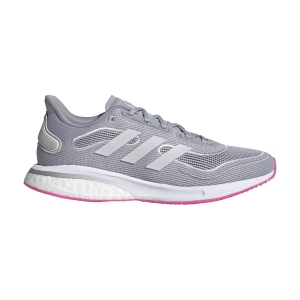 adidas Supernova - Halo Silver/Ftwr White/Screaming Pink