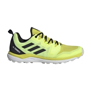 Zapatillas Trail Running Hombre Adidas Terrex Agravic  Acid Yellow/Core Black/Hi Res Yellow FW5130