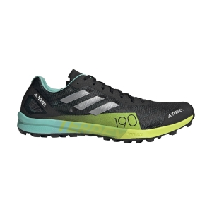 adidas Terrex Speed Pro - Core Black/Matte Silver/Solar Yellow