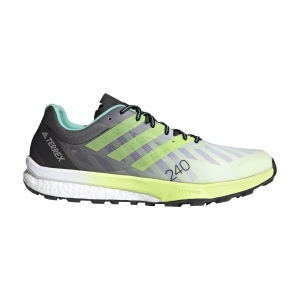 adidas Terrex Speed Ultra - Ftwr White/Solar Yellow/Matte Silver