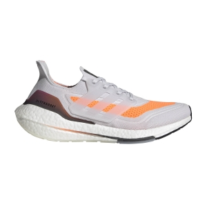 adidas Ultraboost 21 - Dash Grey/Screaming Orange