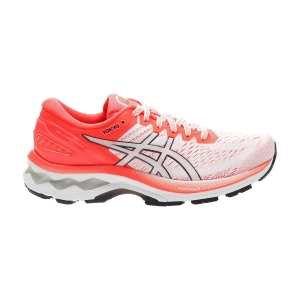 Zapatillas Running Estables Mujer Asics Gel Kayano 27 Tokyo  White/Sunrise Red 1012A948100