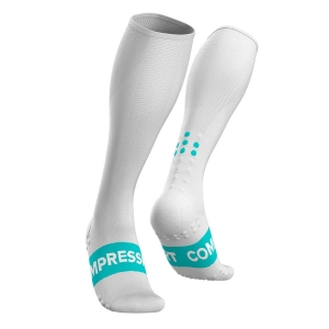 Compressport Race Oxygen Calcetines - White