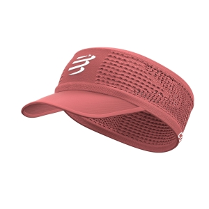 Hats & Visors Compressport Spiderweb Visor  Coral CU00006B401