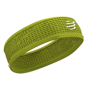 Fasce Compressport Thin On/Off Fascia  Lime CU00010B605