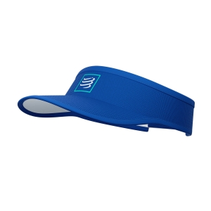 Hats & Visors Compressport Logo Visor  Blue/Lolite CU00054B512
