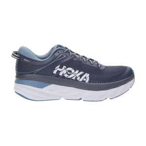Men's Neutral Running Shoes Hoka One One Bondi 7  Ombre Blue/Provincial Blue 1110518OBPB