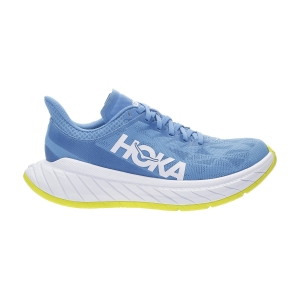Women's Performance Running Shoes Hoka One One Carbon X 2  Diva Blue/Citrus 1113527DBCTR