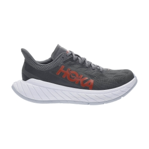 Scarpe Running Performance Uomo Hoka One One Carbon X 2  Dark Shadow/Fiesta 1113526DSFS