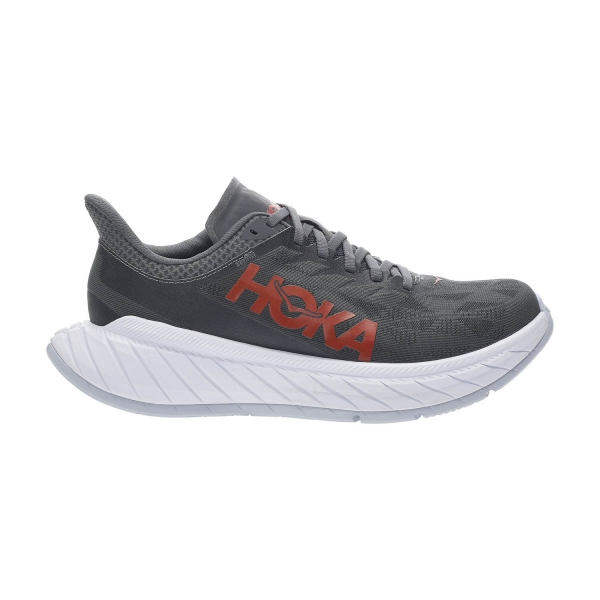 Hoka One One Carbon X 2 - Dark Shadow/Fiesta