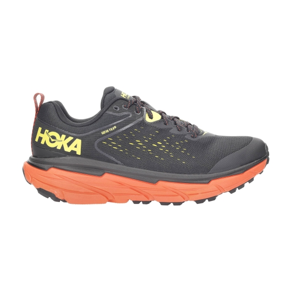 Hoka One One Challenger Atr 6 GTX - Black/Green Sheen