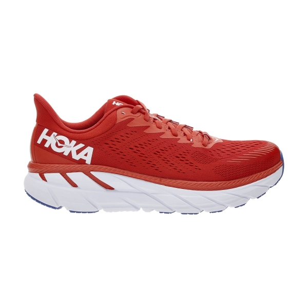 Hoka One One Clifton 7 - Fiesta/White