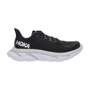 Women's Neutral Running Shoes Hoka One One Clifton Edge  Black/White 1110511BWHT