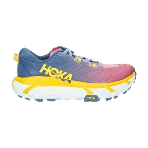 Women's Trail Running Shoes Hoka One One Mafate Speed 3  Moroccan Blue/Saffron 1113531MBSF