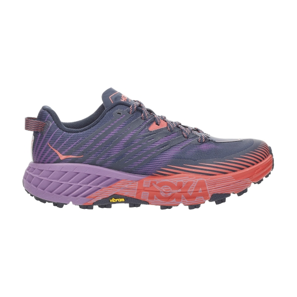 Hoka One One Speedgoat 4 - Outer Space/Hot Coral