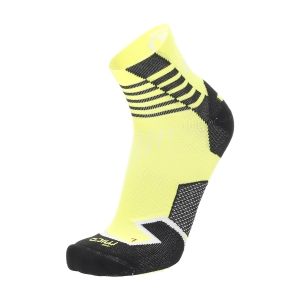 Running Socks Mico Oxijet Light Weight Compression Socks  Giallo Fluo CA 1280 189