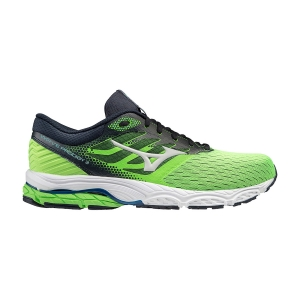 Men's Neutral Running Shoes Mizuno Wave Prodigy 3  Green Gecko/Snow White/India Ink J1GC201051