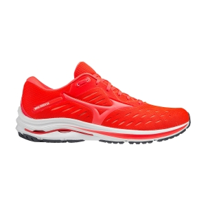 Men's Neutral Running Shoes Mizuno Wave Rider 24  Ignition Red/Fiery Coral 2 J1GC200364