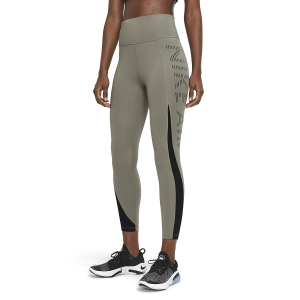 Nike Air Epic Fast 7/8 Tights - Light Army/Black/Reflective Black