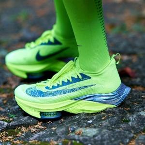 Nike Air Zoom Alphafly Next% - Volt/Black/Racer Blue/Multi Color